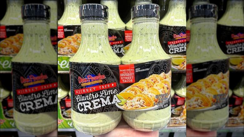 Costco cilantro lime crema