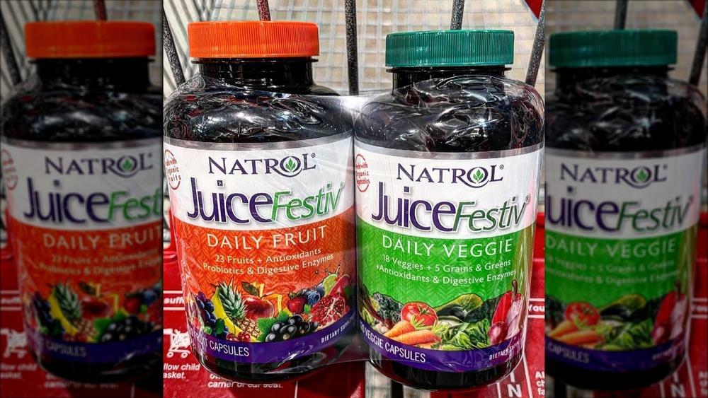 Natrol fruit and veggie vitamins