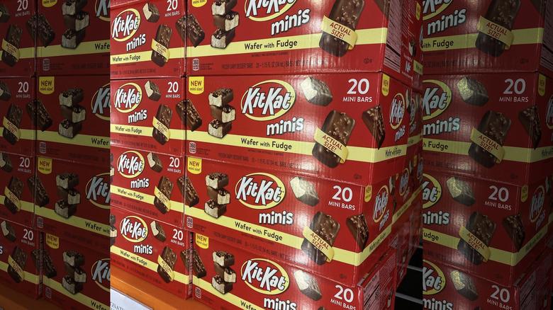 KitKat minis ice cream bars at Costco
