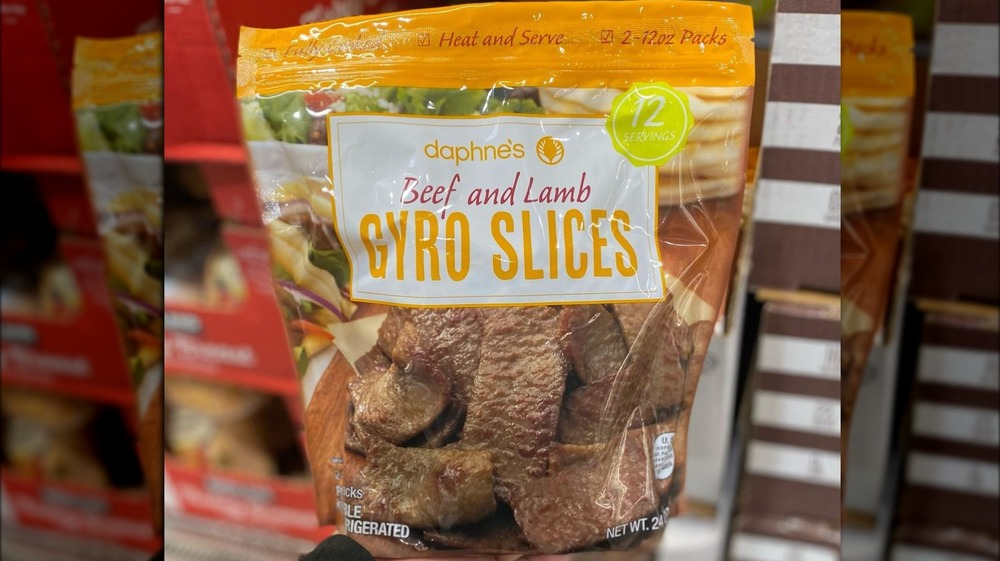 Costco Daphne's beef and lamb gyro slices