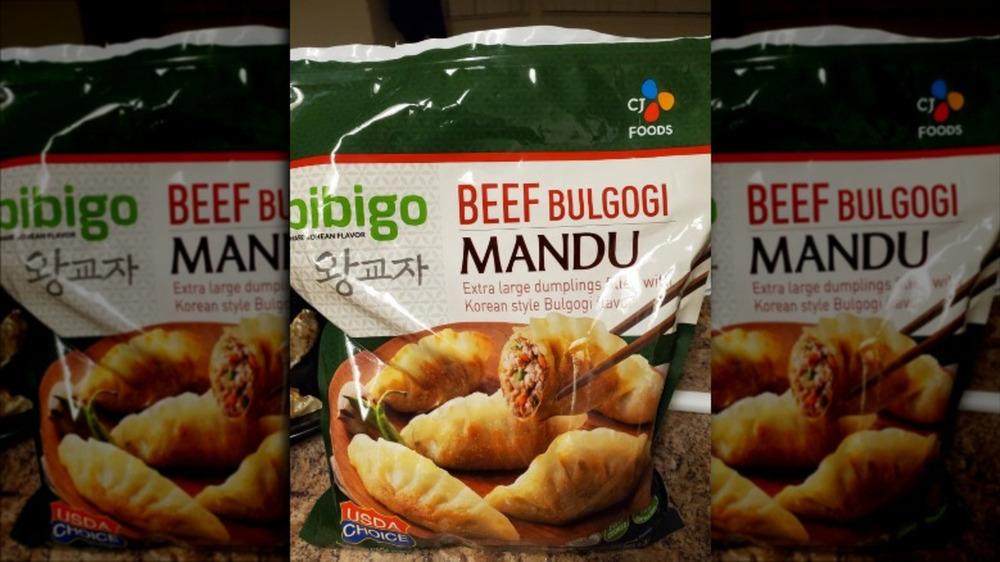 Costco's frozen beef bulgogi mandu
