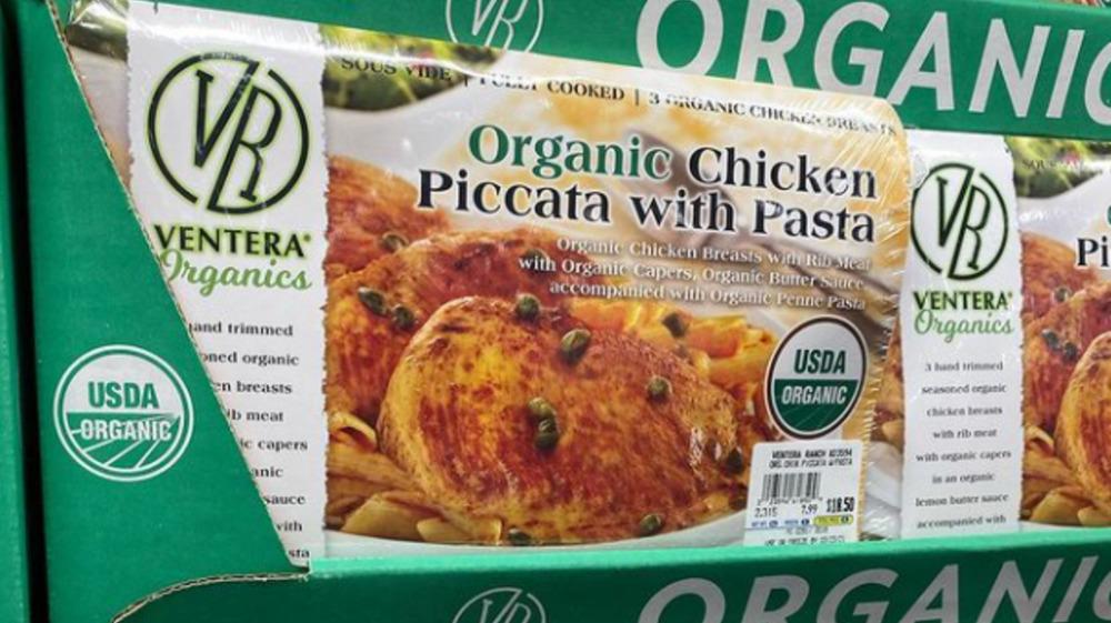 Costco's organic chicken piccata with pasta