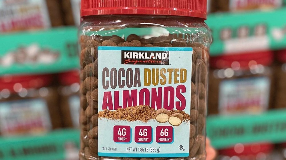 Kirkland's cocoa dusted almonds