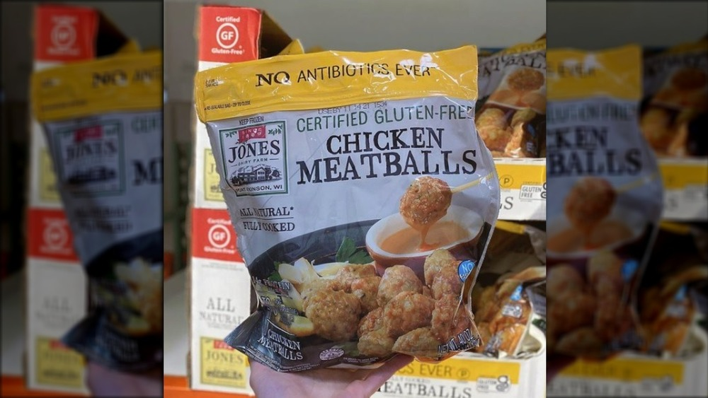 Costco Gluten-free chicken meatballs
