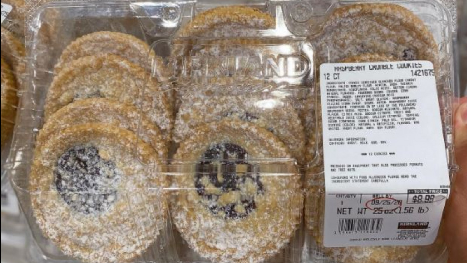 Costco Shoppers Are Obsessed With These Raspberry Crumble Cookies