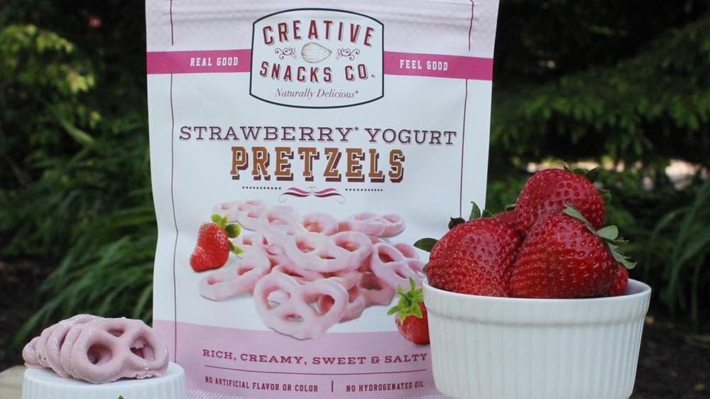 Strawberry & Yogurt pretzels from Costco