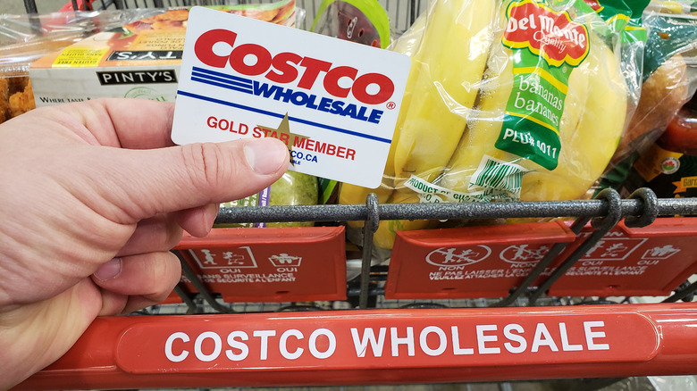 Costco card and receipt