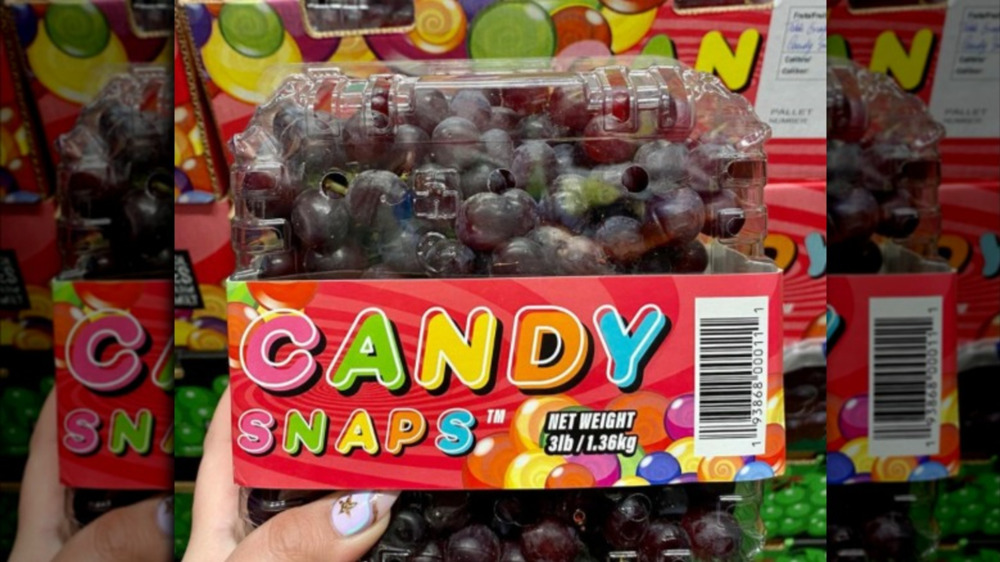 Costco candy snap grapes