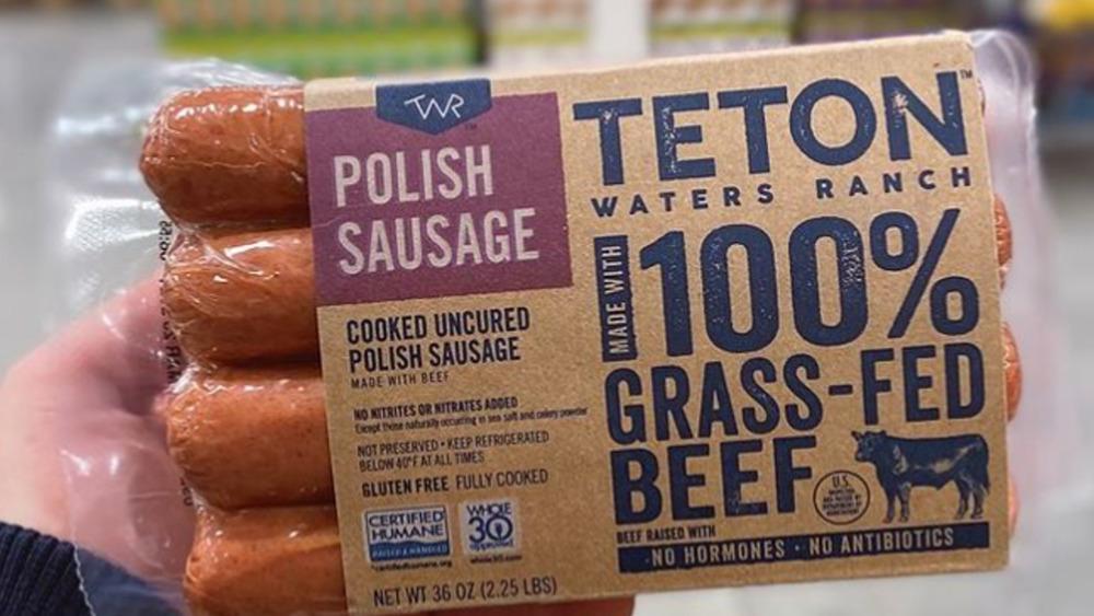Teton Waters Ranch Polish Sausage at Costco