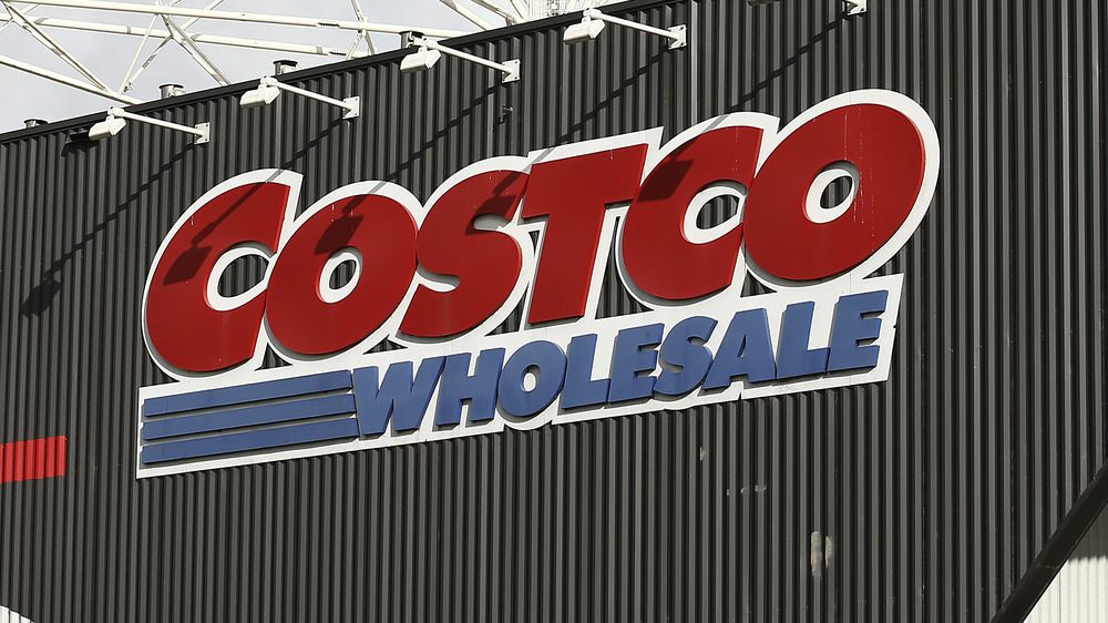 Costco storefront in the daytime