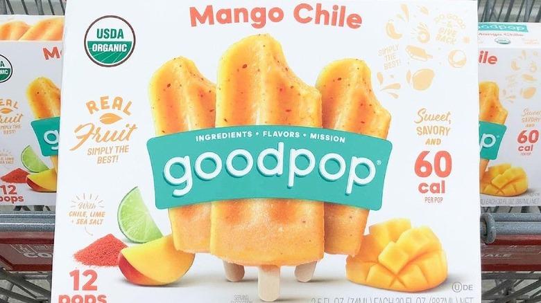 Mango Chile popsicles