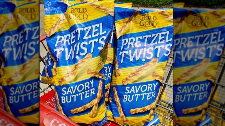 Costco's Rold Gold Pretzel Twist bags