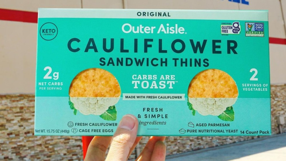 cauliflower sandwich thins at Costco