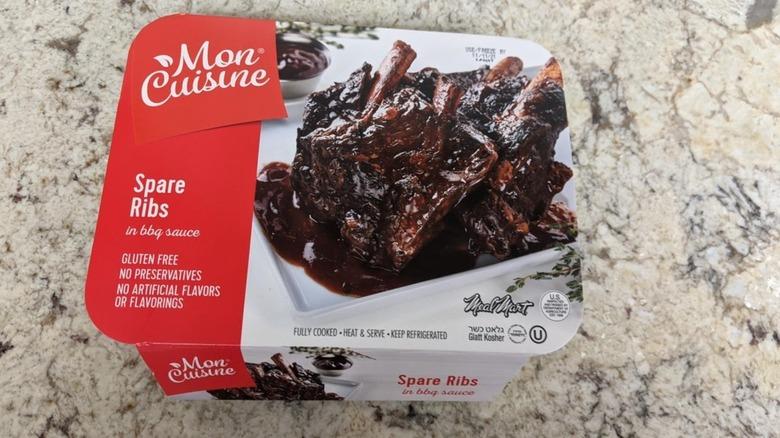 Mon Cuisine beef spare ribs