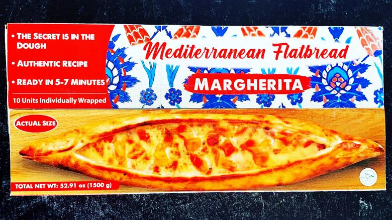 Margherita Mediterranean Flatbread in package