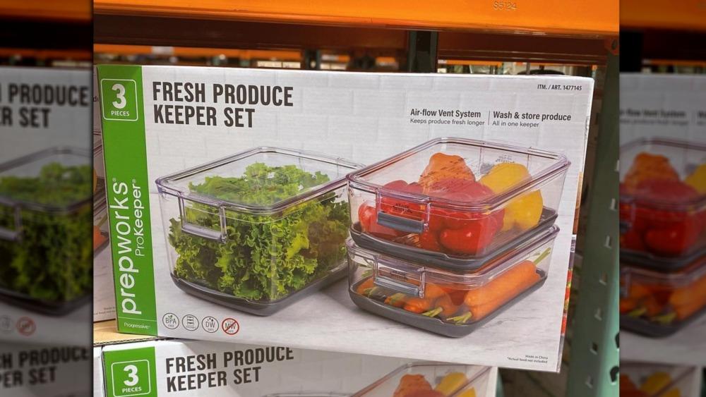 Costco's Fresh Produce Keeper Set of Three