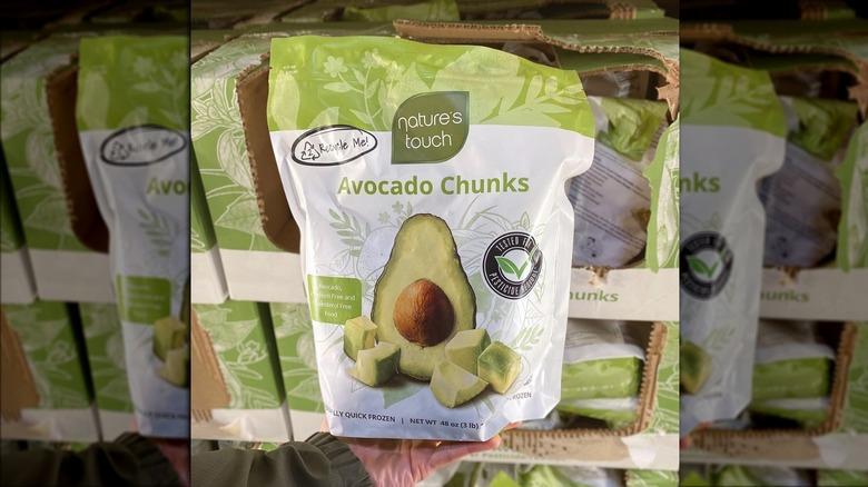 Frozen avocado chunks from Costco