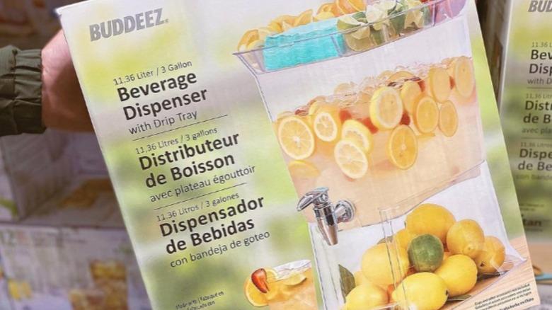 Costco summer beverage dispenser