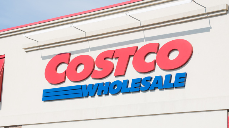 Costco sign on outside of store