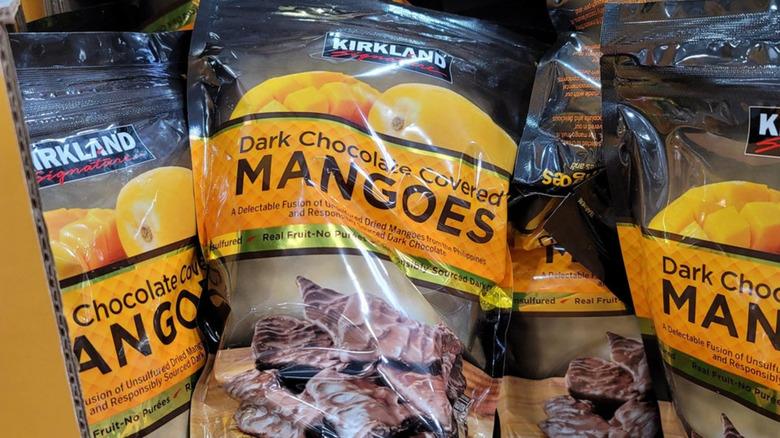 Costco Dark Chocolate Covered Mangoes