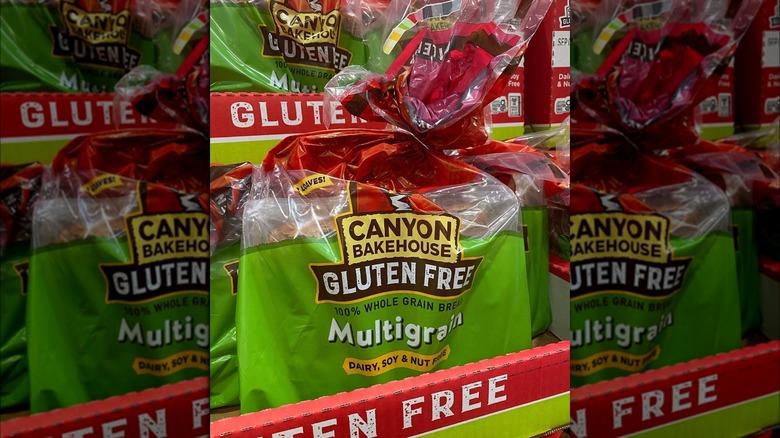 Canyon Bakehouse multigrain bread