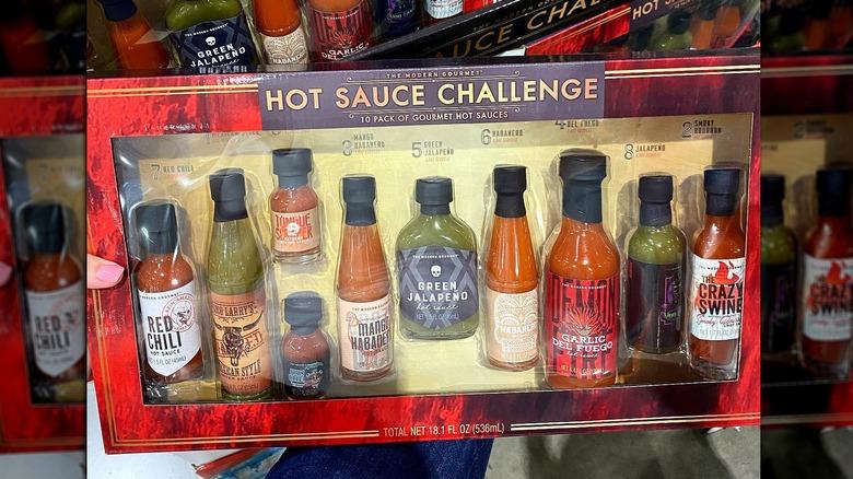 Costco Hot Sauce Challenge box