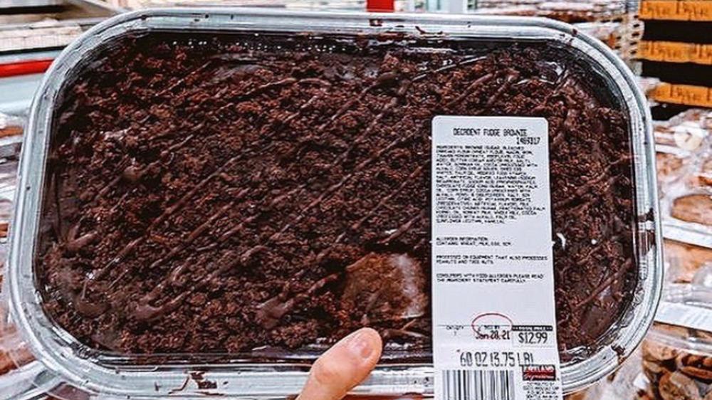 Costco's Decadent Fudge Brownie