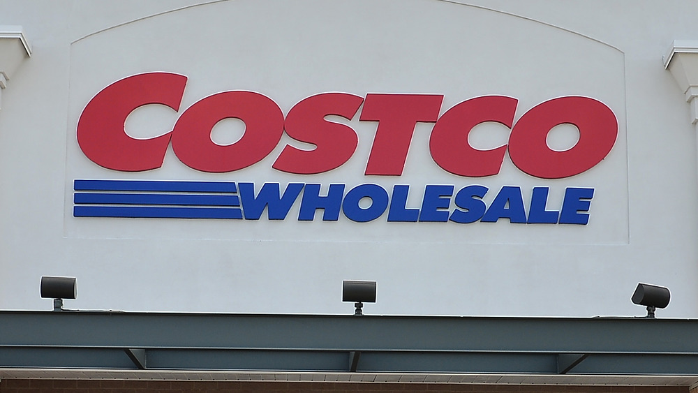 Costco store sign on building