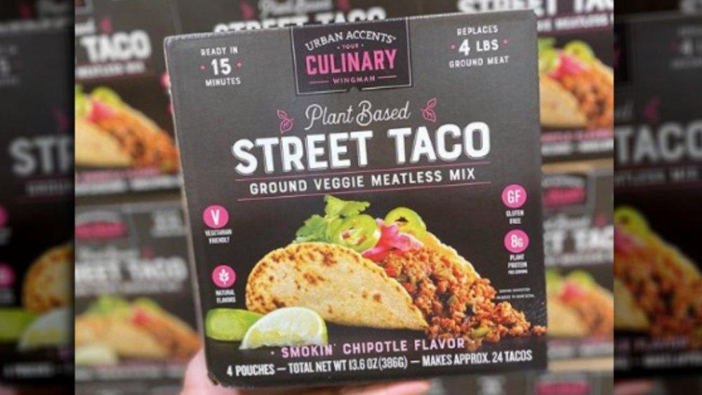new Costco vegetarian taco kits