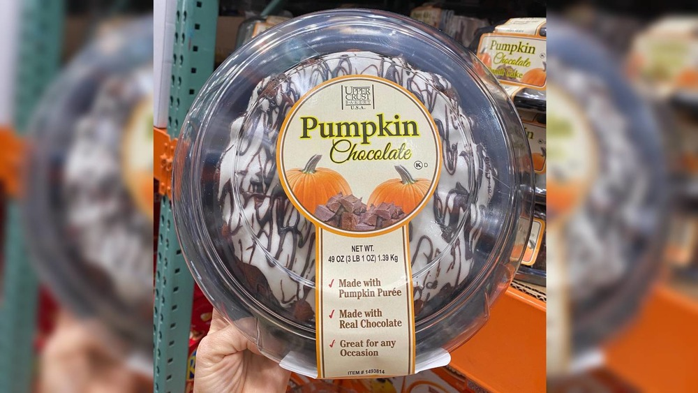 Costco Pumpkin Chocolate Bundt Cake