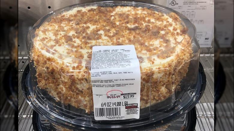 Costco carrot cake