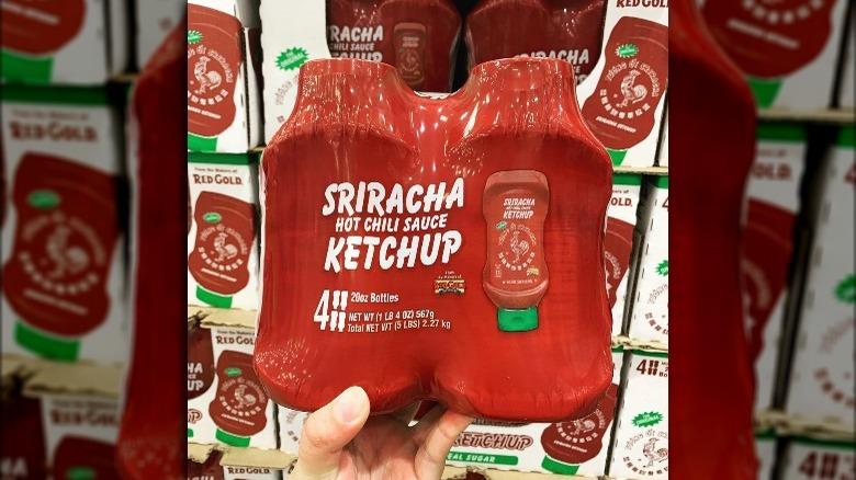 Costco's Sriracha ketchup