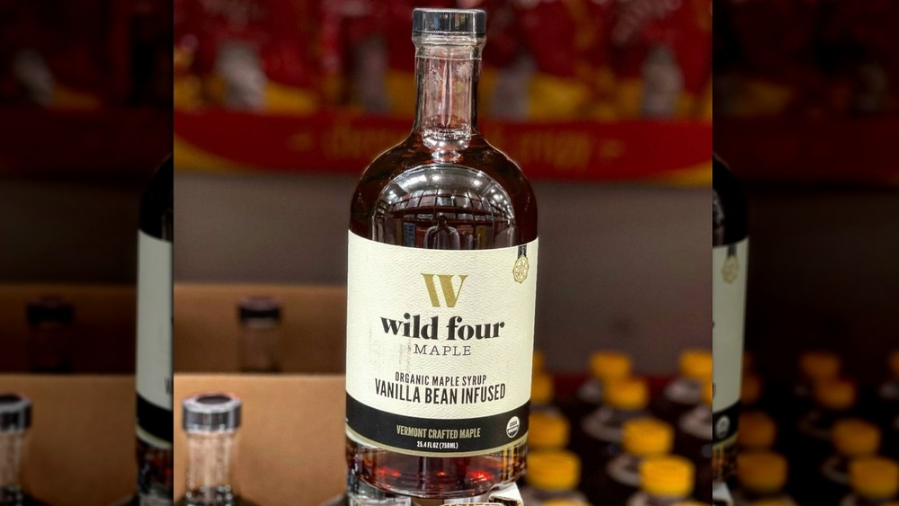 Wild Four Vanilla infused maple syrup