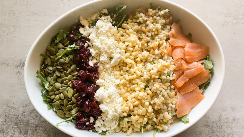 Copycat Cowboy Ciao Salad in bowl
