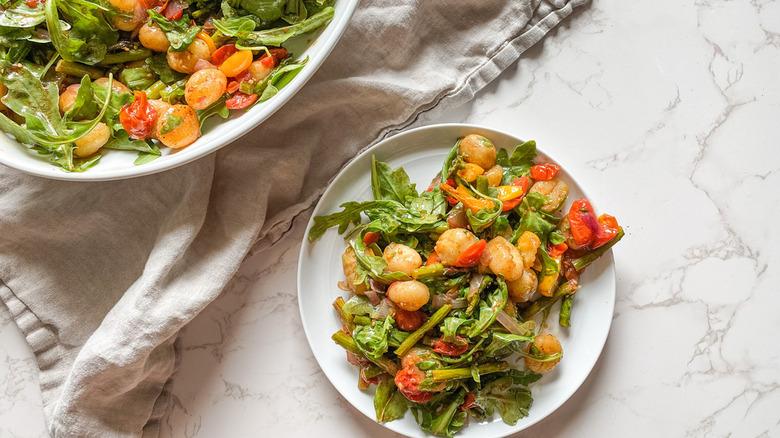Crispy sheet pan gnocchi recipe