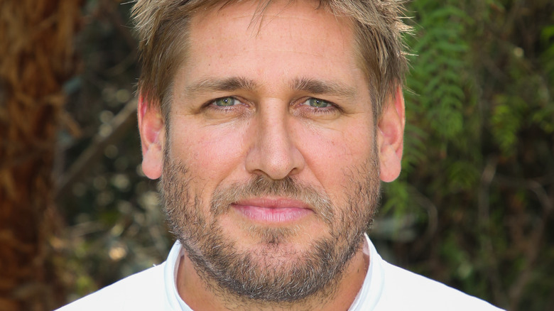 Curtis Stone in chef's whites