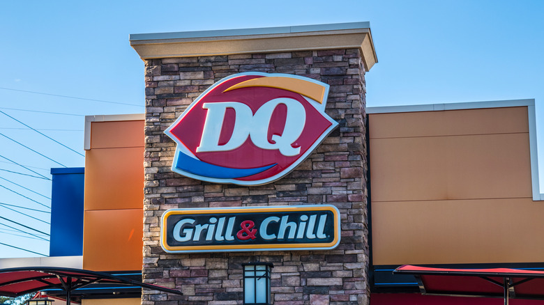 Exterior of a Dairy Queen location
