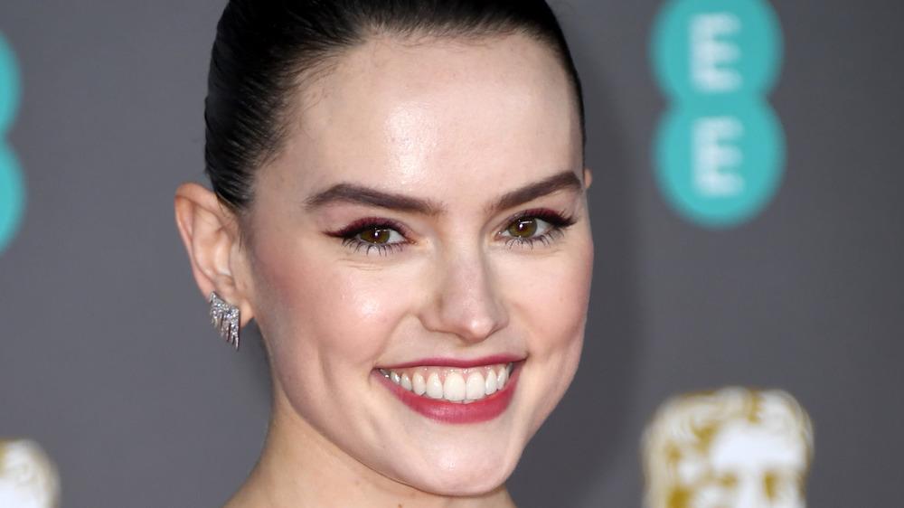 Daisy Ridley smiling big