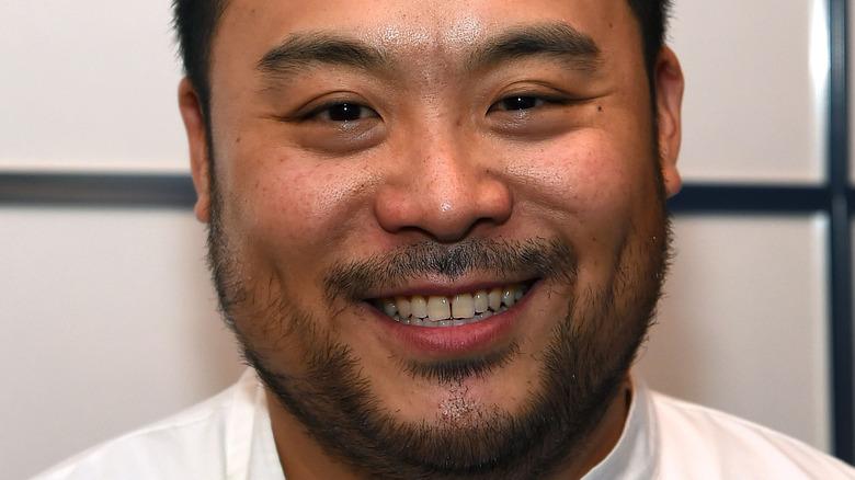 David Chang smiling closeup