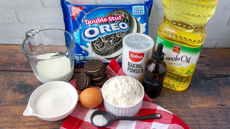 deep fried Oreos ingredients