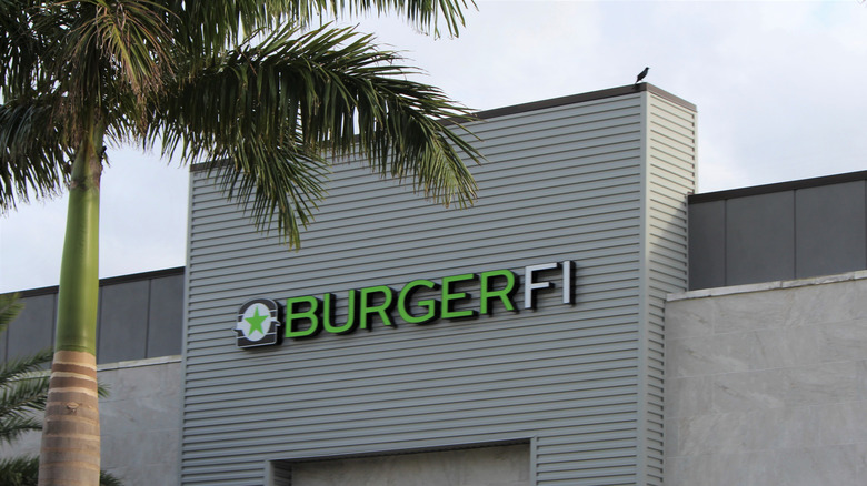 The outside of a BurgerFi in Florida