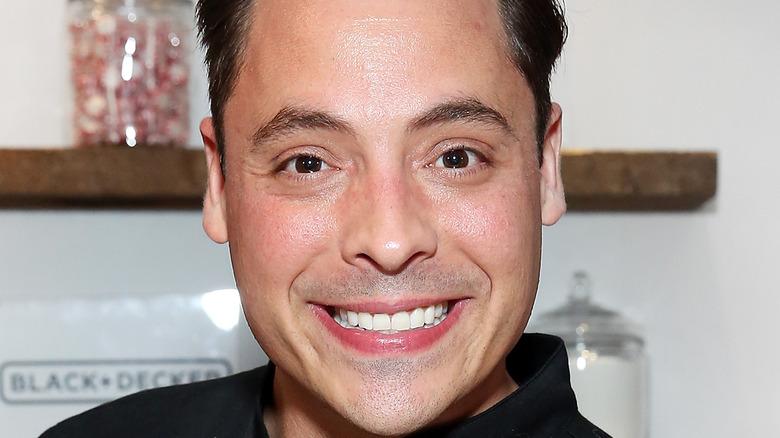 Jeff Mauro smiling