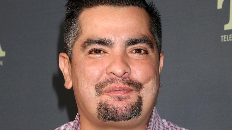 Aarón Sánchez smiles in close-up