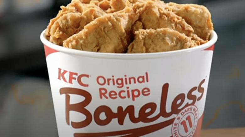 KFC Original Recipe Boneless commercial