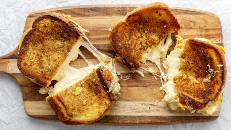 Disney grilled cheese ready to eat