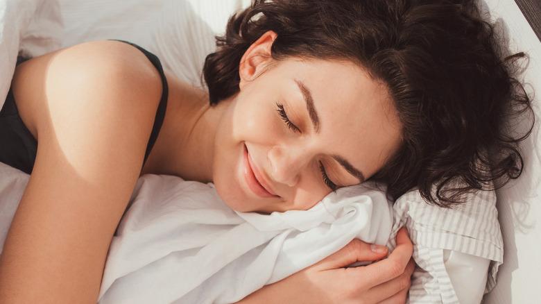 Smiling sleeper