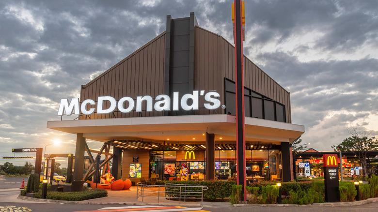 McDonald's building