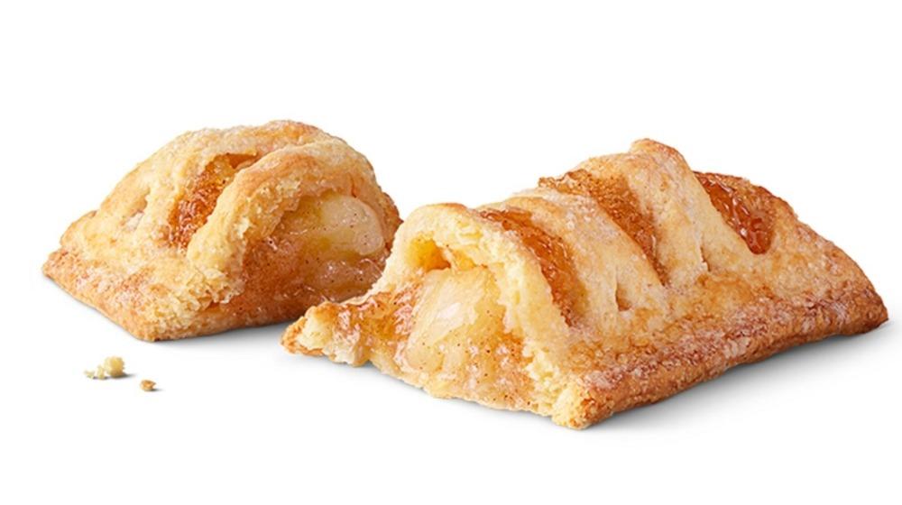 Sweet McDonald's apple pie halves