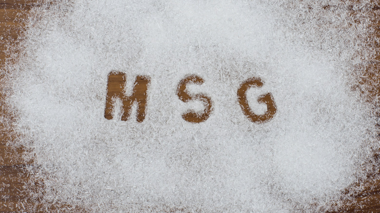 Message about MSG