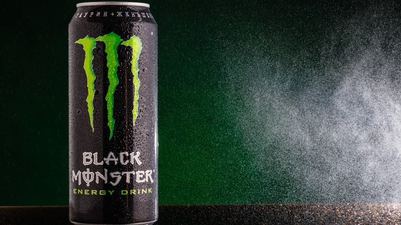 Monster Energy Drink with logo